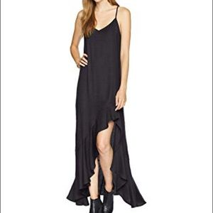 Billabong kick it up black dress NWT
